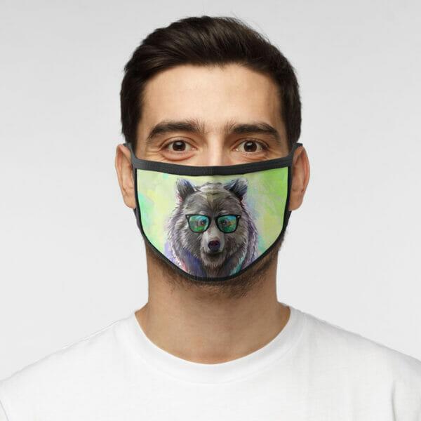 Freaky Bär - Gesichtsmaske