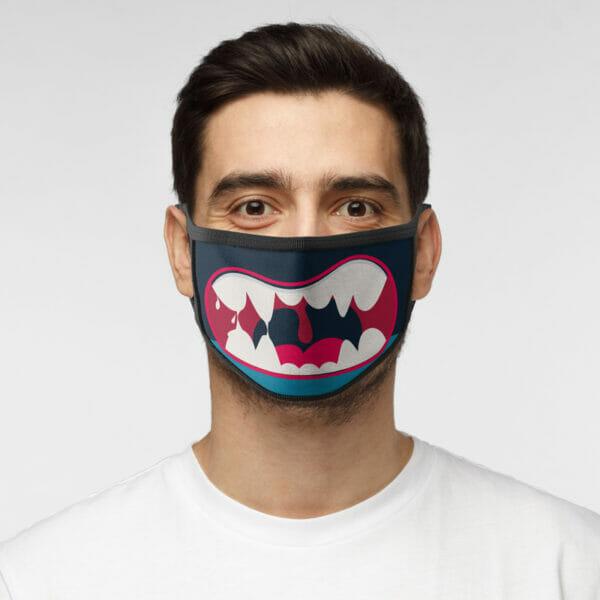 Monster - Gesichtsmaske