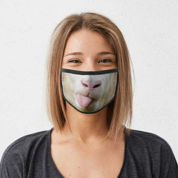 Schaf - Gesichtsmaske