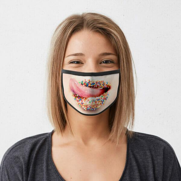 Süsse Lippen - Gesichtsmaske
