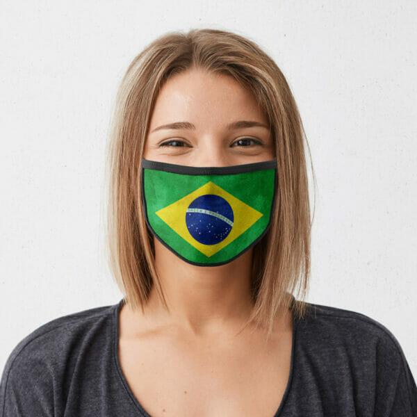 Brasilien - Gesichtsmaske