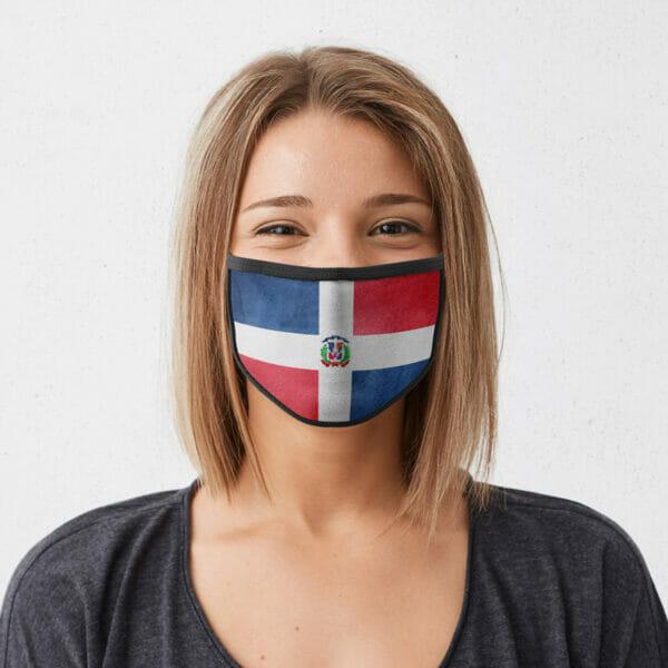Dom. Rep - Gesichtsmaske