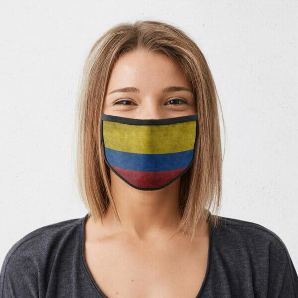 Kolumbien - Gesichtsmaske