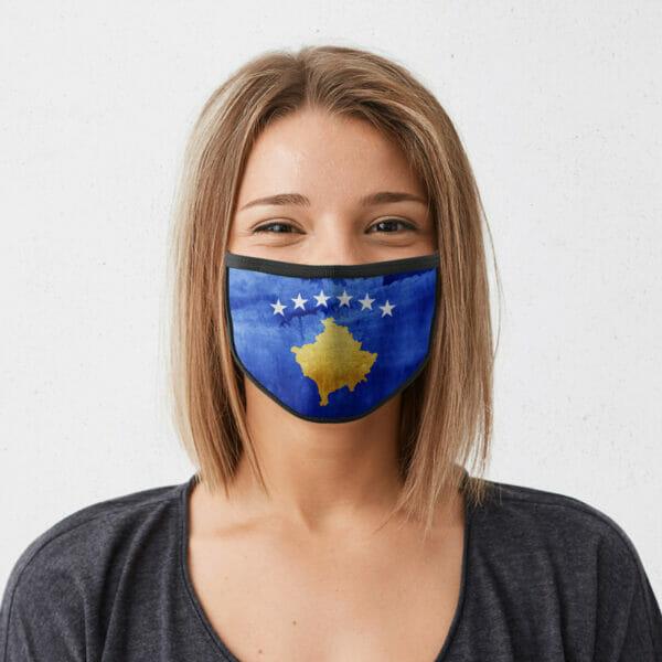 Kosovo - Gesichtsmaske
