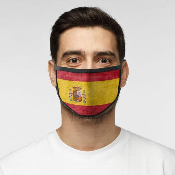 Spanien - Gesichtsmaske